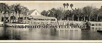 "1951 Silver Springs Florida Vintage Panoramic Photograph 37"" Long"