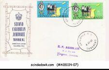 TRINIDAD & TOBAGO - 1961 2nd CARIBBEAN JAMBOREE / SCOUTS - 2V - FDC