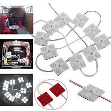 40LED Car Interior Light Kit Bright White Lamp For LWB Camper Van Truck 12V UK