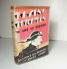 Flying Dutchman: The Life of Fokker 1931 SIGNED Aviation Pioneer Pilot HCDJ
