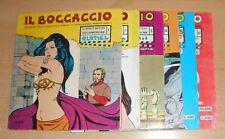 ED.ILDI   SERIE  IL BOCCACCIO  N°  1/6. CPL  1971  ORIGINALE  !!!!!