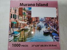 Puzzle Mate - MURANO ISLAND - 1000 pc Jigsaw Puzzle SEALED!