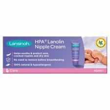 Lansinoh HPA Lanolin Nipple Cream 40ml -  Sore Nipples & Cracked Skin
