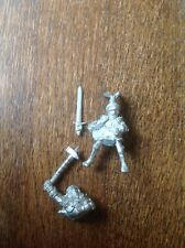 Warhammer IMPERIO CONDE ELECTOR. & Caballero de la White Wolf. Metal.