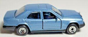 VINTAGE 1987 MATCHBOX MERCEDES-BENZ 300E MB58 METALFLAKE SKY BLUE MOVING PARTS M