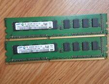 4GB Samsung 2x2GB M391B5773CH0-CH9 PC3-10600E 1Rx8 Workstation/Server Memory