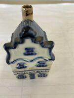 Blue Delft's KLM Bols Older Number 1 House Holland Stain Unsealed