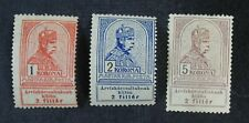 CKStamps: Worldwide Stamps Hungary Scott#B15 B16 Mint H OG #B15 Lightly Crease