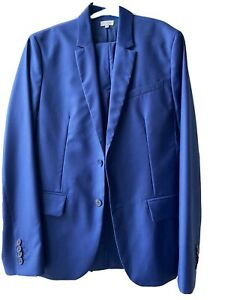 BNWT Paul Smith Boys Suit 14 YR Worn Once For Wedding Blue Jacket Trousers