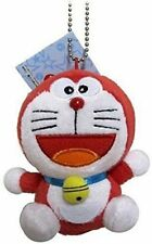 "Doraemon Plush Swing Keychain - 4"" Red Doraemon"
