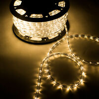 150Ft Xmas Led Rope Light Party Home Christmas Patio Outdoor Decor 110V Lighting