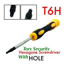 Torx Security TR6 T6H T6 Hexagon Screwdriver with Hole USA