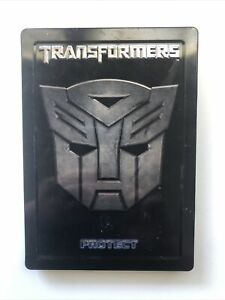 TRANSFORMERS - Protect & Destroy - Metal Case (2007) No Booklet - Steelbook