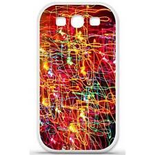 Coque housse étui tpu gel motif lights Samsung Galaxy S3 i9300