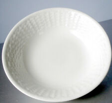 Wedgwood Nantucket Basket Cereal All Purpose Bowl White Embossed New