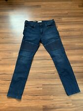 Gap Slim Dyneema Denim Motorcycle Jeans 36x36