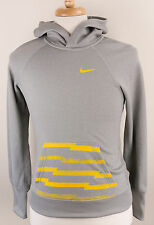 Nike Therma-Fit Livestrong Gray Hoodie Sweatshirt Mens Small S