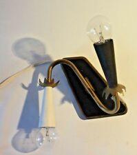 C36 Lampe Art déco vintage 60' noir et blanc
