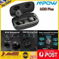 Mpow M30 Plus TWS Wireless Bluetooth Headphones Sports Earbuds In-Ear Deep Bass