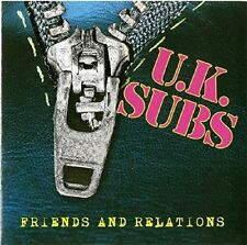 UK Subs - Friends & Relations [New CD]