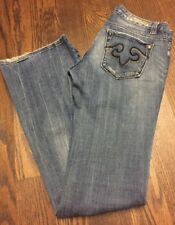REROCK For Express Women's Boot Cut Jeans Size 4 Regular #105
