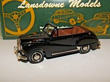 LANSDOWNE MODELS 1953 AUSTIN SOMERSET CONVERTIBLE BLACK 1/43 LDM9X 1 OF 600