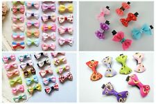 Baby Girl Hair Clips Infant Toddler Women Flower Hairpin 10 Pieces Wholesale New