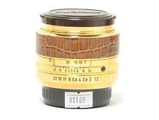 Pentax 50mm F/1.2 Limited Gold Edition Lens PK Mount *MINT-*