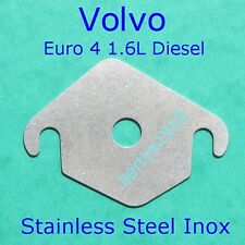 EGR blank restricting plate Volvo 1.6 Diesel & Ford 1.6 TDCi Stainless with hole