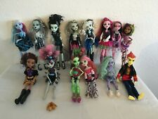 14 Monster High Doll Bundle including Freak du Chic Frankie Stein Doll