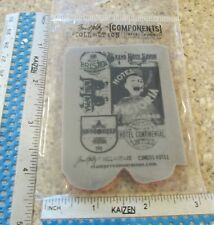 HOTEL CLING UNMOUNTED RUBBER STAMPS-STAMPERS ANONYMOUS TIM HOLTZ COM005