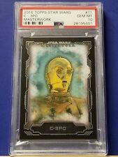 Topps Star Wars Card Trader Illustrated Series 6-2 #7 Green C-3PO /& R2-D2 CTI