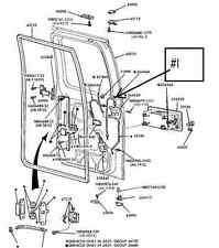 1992-2012 FORD E DOOR CABLE