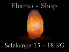 Details zu Salzkristall Lampe PYRAMIDE Holzsockel ca 20 cm Salzleuchte Salzlampe 3 kg