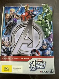 Marvel Avengers Assemble Season 1 - 4 DVD Metal Tin set - Brand new sealed!