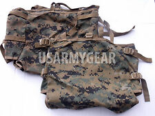 2 Made in USA marpat ILBE Rucksack Pack USMC Radio Utility POUCH hold 4 MRE's GI