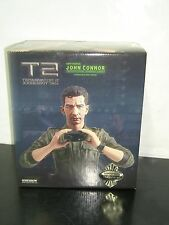 TERMINATOR 2 T2 John Connor SIDESHOW Bust Judgment Day STATUE 353/1000 BOXED