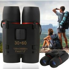 30*60 Zoom Compact Mini Binoculars Foldable Telescopes Roof Prism Camping Hiking