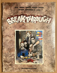 BREAKTHROUGH. compilation: Moebius, Gaiman, Manara, et al. Catalan 1990. Sealed.