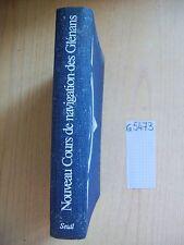 NOUVEAU COURS DE NAVIGATION DES GLENANS - COMPAS/SEUIL - 1972