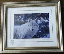 Wolf print by Stephen Gayford - Phantom of the North