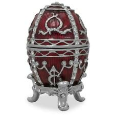 1895 Rosebud Royal Russian Egg 2.5 Inches