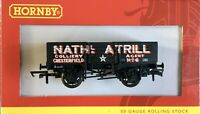 """Hornby R.6653 """"5 PLANK WAGON NATHANIAL ATRILL 'No 6 ' Excellent Condition(0997)"""