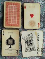 Mazzo 52 carte da gioco Febbraio 1951 Lire 200 Arrco Playing Card Co Chicago USA