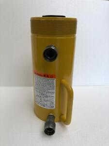 """ENERPAC RR 756 HYDRAULIC DOUBLE ACTING CYLINDER 75 TON CAPACITY 6"""" STROKE"""