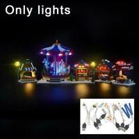 LIGHTAILING Led Light Kit For LEGO Christmas Winter Village 10235 Market F7S0