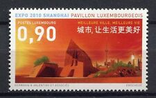 34115) LUXEMBOURG 2010 MNH**  Expo Shanghai 1v