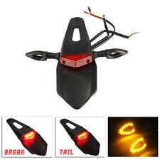 Smoke Motorcycle Dirt Bike LED Enduro Fender Brake Tail Light Turn Signal Light