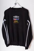 Vintage UMBRO Gloshaugen Handball Sweatshirt Black (L)