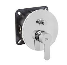Flush-mounted in-wall Bathtubs Mixer Tap Bathtub fitting inc. Attachment NEW